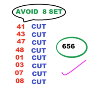 Thai Lottery 3up Cut Pair Tips