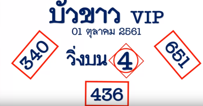 Thai Lottery Final Tips